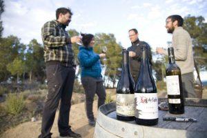 Corbera d'Ebre. Poble Vell de Corbera. visita turística Vinos en las trincheras. Cata de vinos de Bodegas Frisach (2) FM