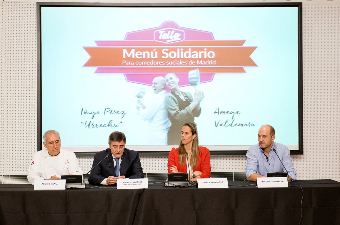 Men s solidarios de tello en comedores sociales de tres autonom as origen - Voluntariado madrid comedores sociales ...