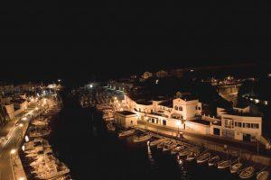 Ciutadella. puerto por la noche (FILEminimizer)