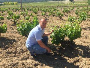 Francisco José Estevez, enólogo de Bodegas Viticultores de Barros (FILEminimizer)