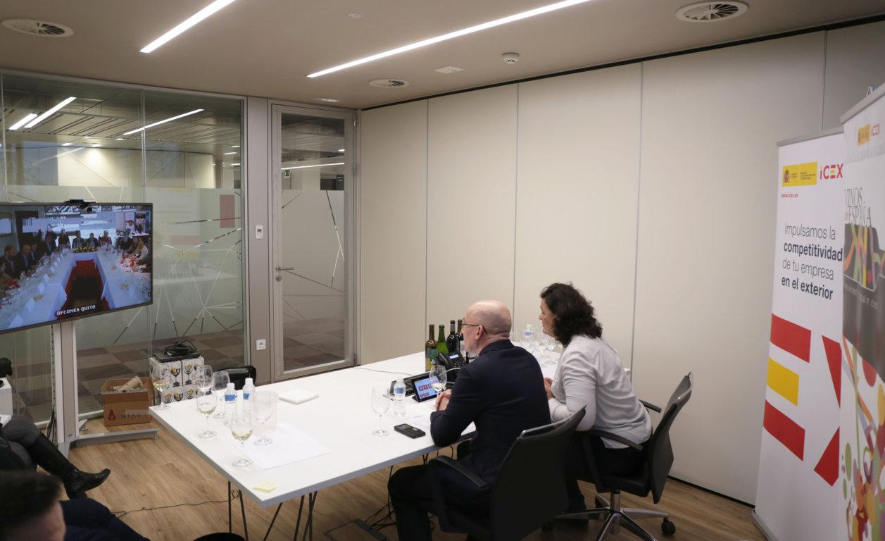 icex lanza un servicio de catas virtuales por