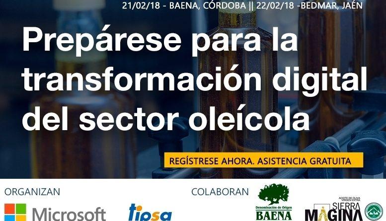 Jornadas sobre digitalización oleícola