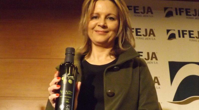Ana cobo y el nuevo aceite Sierra Mágina
