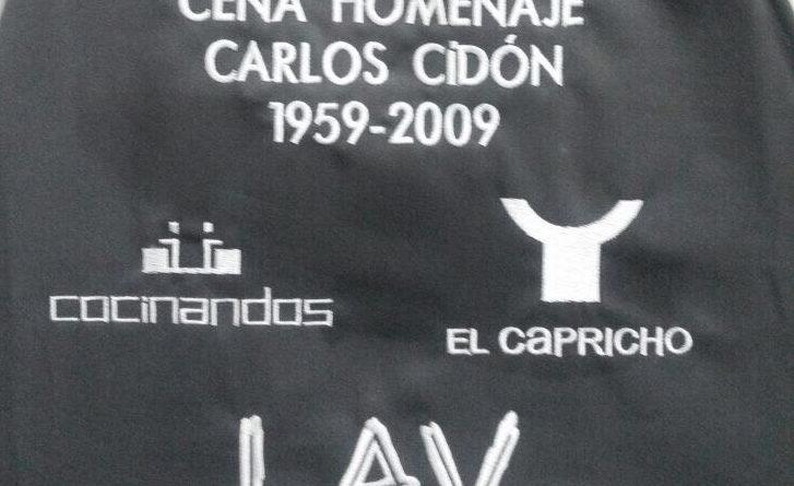 homenaje a Carlos Cidón
