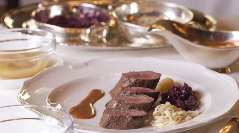 Horcher celebra Acción de Gracias con sus grandes platos de caza - ORIGEN