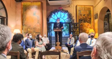 """Luis Planas presenta el libro """"El Amontillado. Tesoros de las bodegas de Montilla-Moriles"""""""