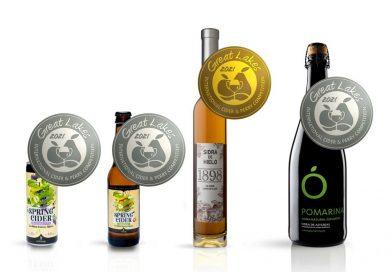 Cuatro nuevas medallas para las sidras del Grupo El Gaitero
