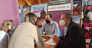 Paso de gigante en la profesionalización de la Feria del Jamón de Teruel